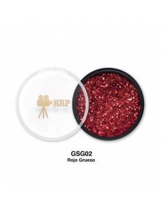 GLITTER HRP SUELTO GORDO ROJO GSG02