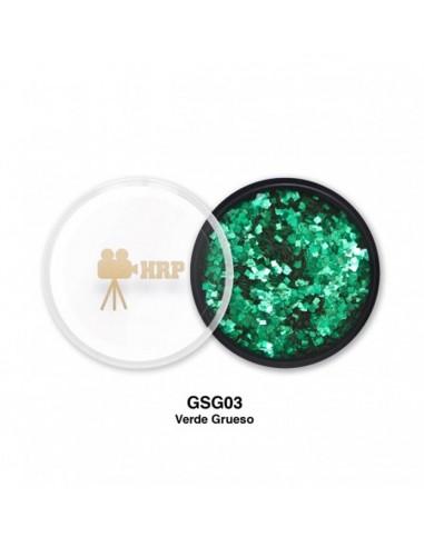GLITTER HRP SUELTO GORDO VERDE GSG03