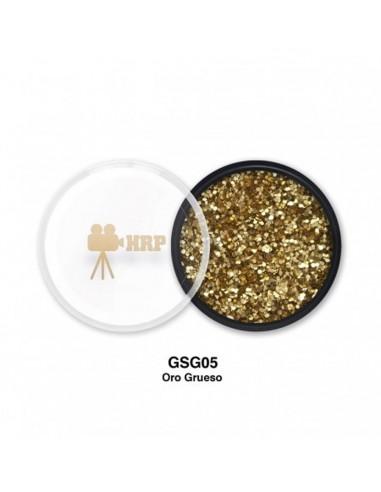 GLITTER HRP SUELTO GORDO ORO GSG05