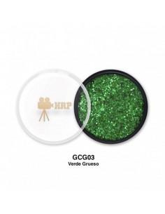 GLITTER HRP CREMA GORDO VERDE GCG03