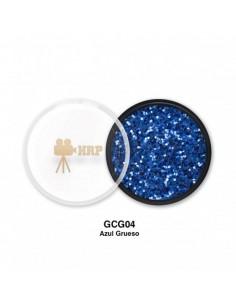 GLITTER HRP CREMA GORDO AZUL GCG04
