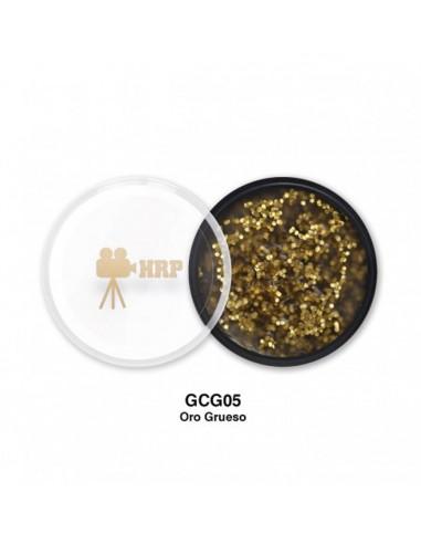 GLITTER HRP CREMA GORDO ORO GCG05