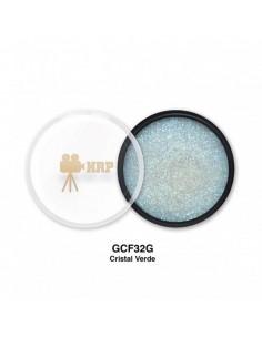 GLITTER HRP CREMA CRISTAL VERDE TORNASOL GCF32G