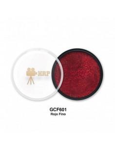 GLITTER HRP CREMA FINO ROJO GCF601