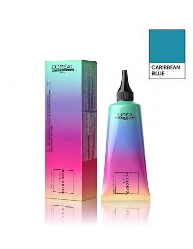 color full caribean blue