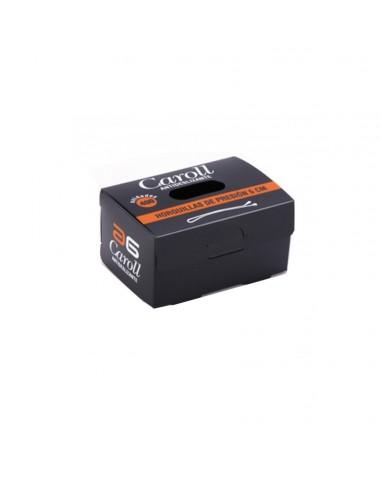 CLIPS CAROLL CASTAÑOS caja 400 clips